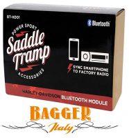 Saddle Tramp BT-HD01 Steaming Bluetooth Harley Davidson 2006-2013