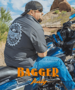 Motorcycle Audio Bagger Italy