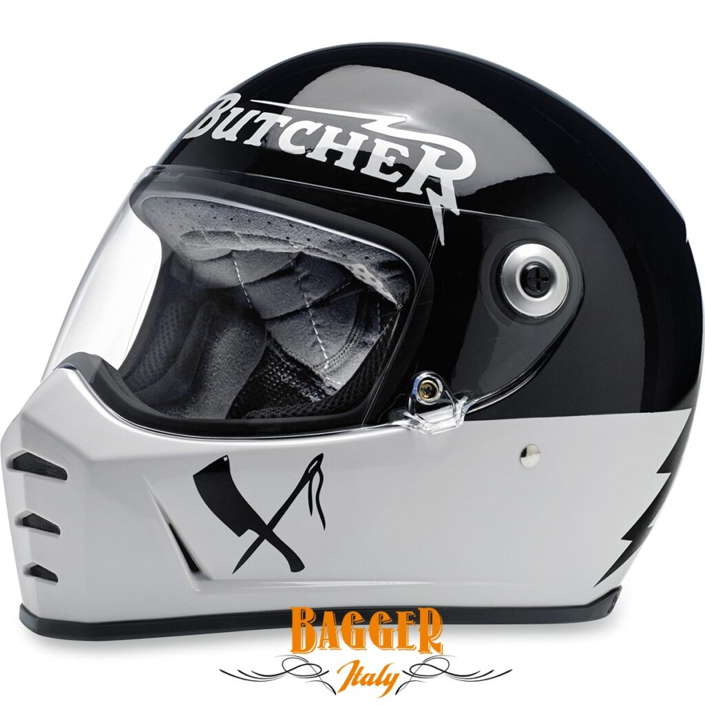 LANE SPLITTER RUSTY BUTCHER FULL FACE HELMET