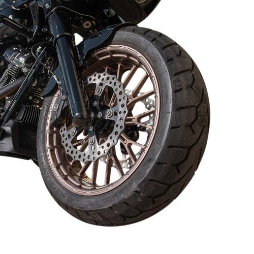 """Arlen Ness Cerchio Titanium Y Harley street cerchio anteriore 21"""""""