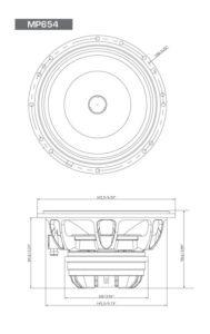 Diamond Audio MP654 PRO