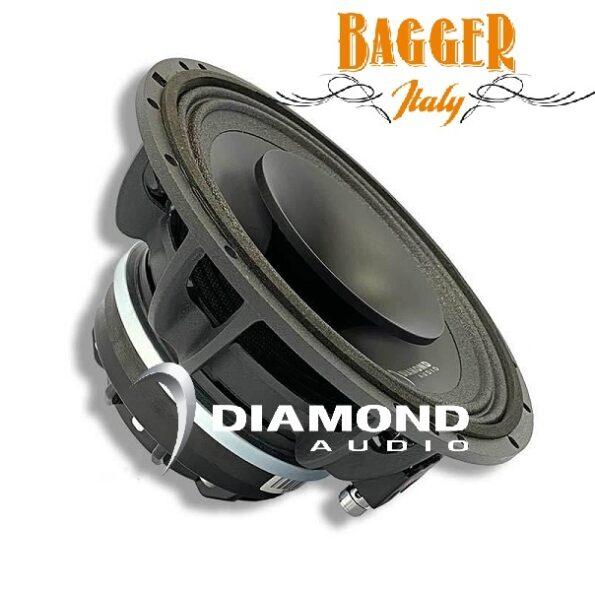 "Diamond Audio MP84 PRO da 8"" Altoparlante a tromba coassiale full-range Harley Custom Motorsport"