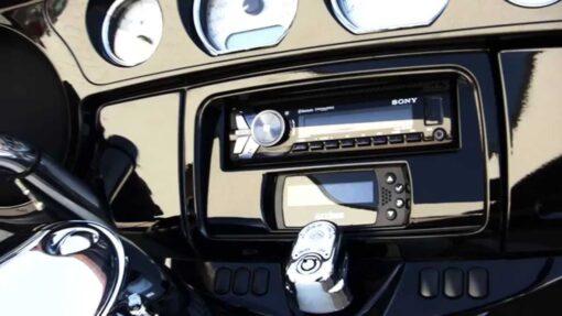 MMetra 99-9700WR kit montaggio Stereo Harley Davidson 14uptraElectronics Saddletramp