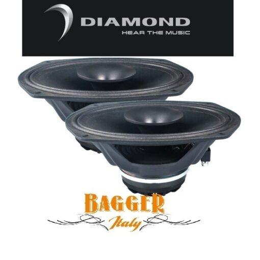 Diamond Audio MP694 PRO 6X9″ Altoparlante a tromba coassiale full-range