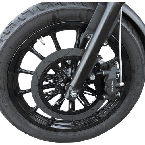 Speed Merchant SM-HDRBM13DDB Lavorato in alluminio billet 6061 ricavato dal pieno. Applicabile a tutti i modelli Harley Davidson dal 2000
