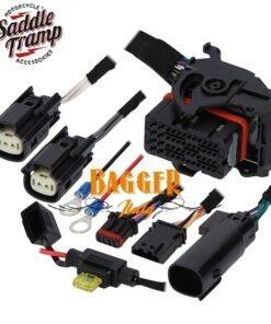 Saddle Tramp BC-9700P Police (FLHTP) Harley Davidson Audio