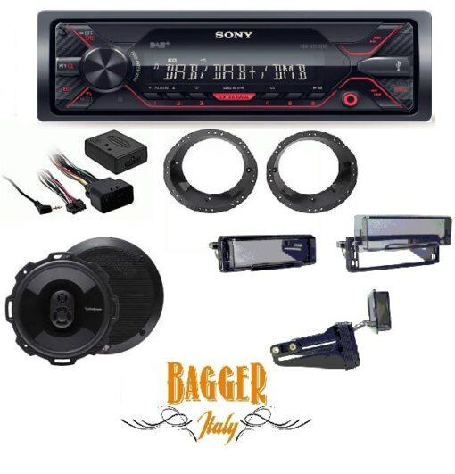 Kit Stereo per Harley Davidson 98-13
